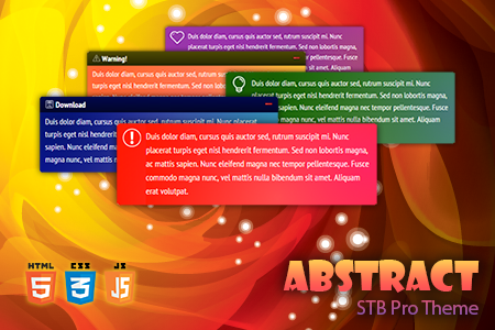 STB Pro Abstract Theme