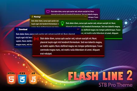 STB Pro Flash Line 2 Theme