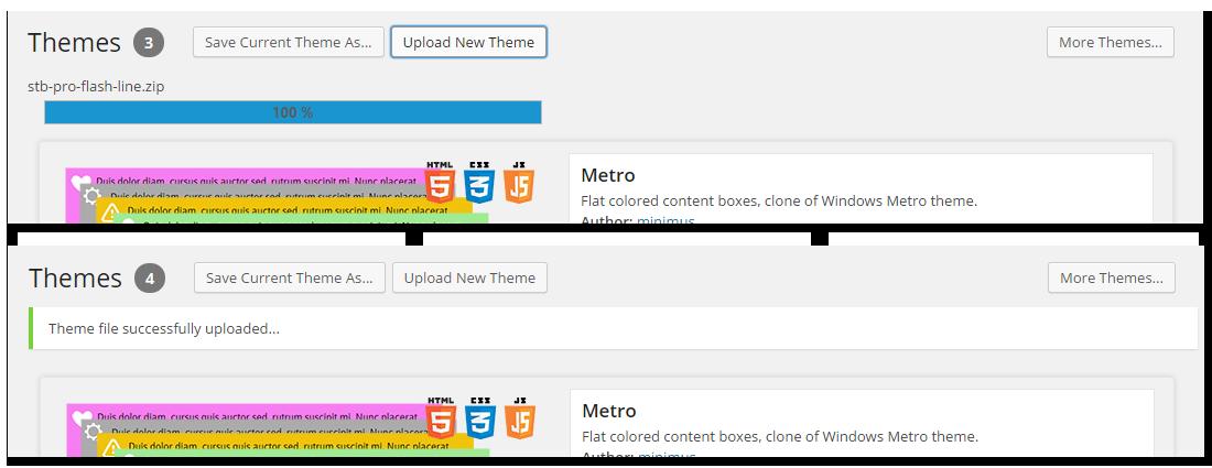 theme-uploading